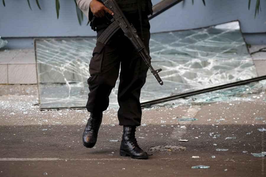 Государственное информагентство сообщило о 32 задержанных боевиках под Минском
