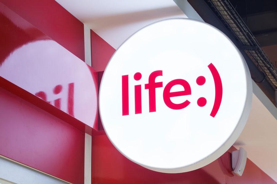 Мобильный оператор life:) увеличивает стоимость некоторых услуг в августе