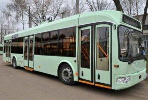 Могилевчанам предлагают обучиться на водителей троллейбусов с гарантией трудоустройства