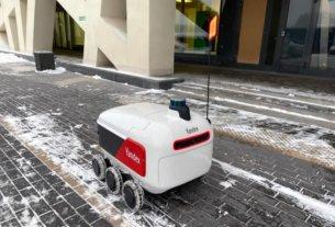 «Яндекс» отчитался о первых итогах проекта с использованием автономных роботов-курьеров для доставки
