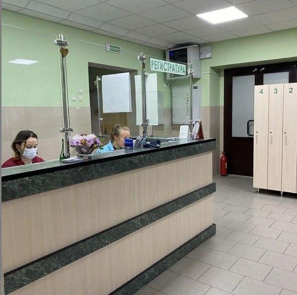 """Медицинский центр """"Альфамед"""" в Минске."""