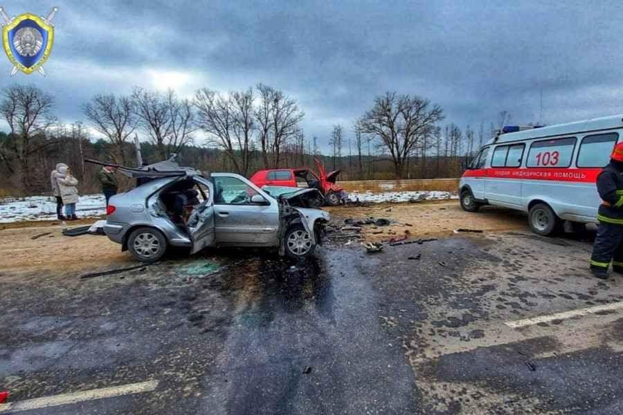 В Волковысском районе в ДТП погибли три человека, в том числе новорожденный ребёнок