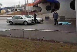 На улице Алибегова в Минске мужчина сбросился с моста