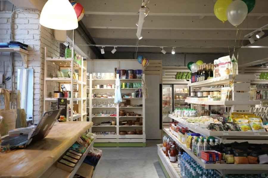 Первый в Минске веганский супермаркет